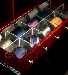 Closet Design .:. Storage Solutions for Ties