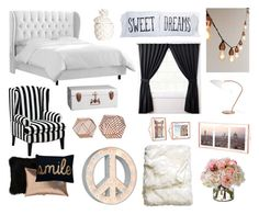 """""""Copper, Black and White"""" by georgia-luker on Polyvore featuring interior, interiors, interior design, home, home decor, interior decorating, Skyline, Universal Lighting and Decor, CB2 and Natural by Lifestyle Group"""