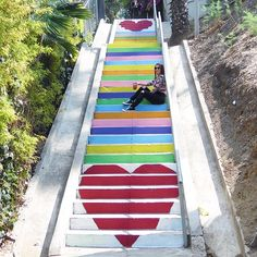 Silver Lake Stairs 3324 Sunset Blvd, Los Angeles, CA 90026