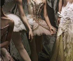 Ballet clothes. Absolutely stunning