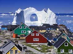 The Ilulissat Icefjord, Greenland (photographer: Yoshi Tomii).