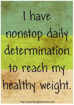 Daily Positive Affirmations Weight Loss