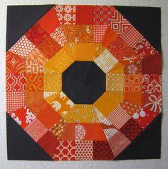 Tutorial: Octagonal Orb Block (from Modern Quilt Guild)