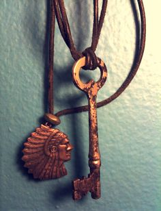 indian in the cupboard necklace.. one of my child hood memories.. i would love this!