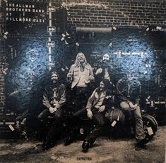 The Allman Brothers Band. At Fillmore East