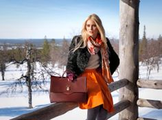 Leather purse by Marja Kurki Finland