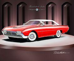 1962 Ford Thunderbird Italia
