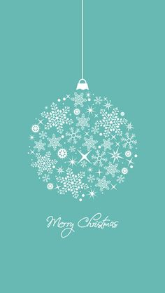 #Christmas iPhone Wallpaper