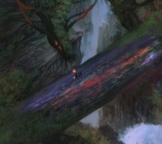 Dark Fantasy Art, Dark Art, Giant Animals, All Falls Down, Fictional World, Tumblr, Anime Animals, Fantasy Landscape, Mythical Creatures