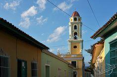 Bell Tower of Convent of San Francisco in UNESCO inscribed Trinidad, Cuba