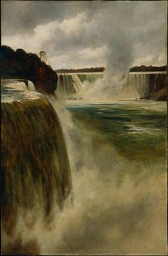 """Niagara Falls,"" James Alfred Aitken, aft. 1887, oil on canvas, The Montreal Museum of Fine Arts."
