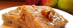 Celozrnný koláč s jablky