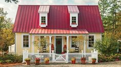 Smaller But Smarter Cottage With Style - Southern Living - An eco-friendly cottage by designer P. Allen Smith shows you 33 ways to get the biggest bang for your buck without sacrificing style.