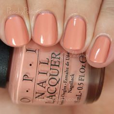 OPI A Great Opera-tunity | Fall 2015 Venice Collection | Peachy Polish