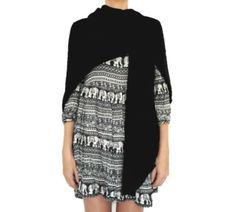 Colete de tricô multifuncional preto da marca Coleteria ♡ - Coletes femininos e infantis - Coleteria | sempre♡