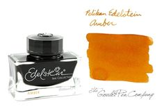 Pelikan Edelstein Amber. Orange is fall's favorite color.  This was the ink of the year 2013.  Wish I could get my hands on some.