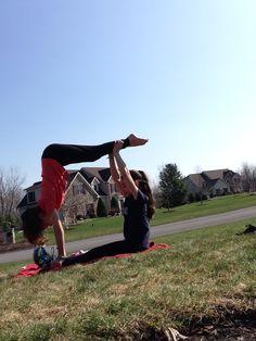 2 person acro stunts