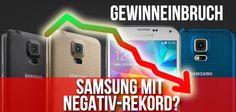 Samsung mit Negativ-Rekord: 60 Prozent Einbußen! - https://apfeleimer.de/2014/10/samsung-mit-negativ-rekord-60-prozent-einbussen - Trotz Samsung Galaxy S5: Samsung rechnet mit 60 Prozent weniger Einnahmen während Apple mit iPhone 6 und iPhone 6 Plus Verkaufsrekorde aufstellt. Der Elektronik-Riese und Apple Rivale Samsung scheint im dritten Quartal einen gewaltigen Einbruch der Gewinne zu erwarten, die vor allem durch die ...