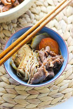 Simple Japanese Hot Pot (Sukiyaki) | Spice the Plate