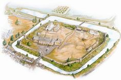 Oakham Castle, Rutland, 2012 - Tricolor Associates - Heritage Development and Design Motte And Bailey Castle, Dungeon Maps, Fortification, Historical Architecture, Norman, Castles, Game Info, Forts, Shtf