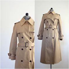 Camel Trench Coat • Trench Coat Woman • Camel Trenchcoat • Spring Coat • Khaki Coat • Double Breasted Coat • Womens Trench Coat • Peacoat by jessjamesjake on Etsy