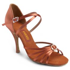 Lady's latin shoes - Freed of London, Sophia. Visit http://ballroomguide.com/comp/attire/shoes.html for more info about ballroom shoes