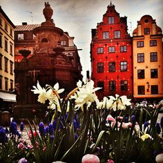 Stortorget, old town in Sweden.