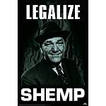 Three Stooges Movie Legalize Shemp Poster Print
