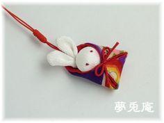 うさぎ根付-1 Kawaii Doll, Textiles, Japanese Style, Baby Sewing, Upcycle, Oriental, Diy And Crafts, Project Proposal, Dolls