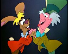 Alice in wonderland The march hare and the mad hatter 1951