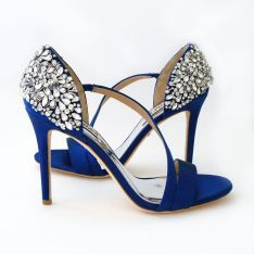 Check out the deal on Badgley Mischka Pauline, Royal Blue Shoes SALE! at Perfect Details Valentino Wedding Shoes, Badgley Mischka Shoes Wedding, Silver Wedding Shoes, Wedding Boots, Royal Blue Wedding Shoes, Blue Bridal Shoes, Wedding Attire, Fall Wedding, Wedding Rings