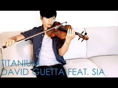 Violin and piano cover of Titanium arranged by Daniel Jang.  Hope you like it! Also feel free to share and subscribe! It would be appreciated.  Twitter: http://www.twitter.com/djang90 Facebook: http://www.facebook.com/metalsides Tumblr: http://danjang.tumblr.com  Download here: http://www.mediafire.com/download.php?ansjcb8w2nilt9a