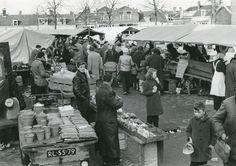 Geschiedenis van Vlaardingen - Veerplein. Weekmarkt