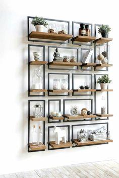 RANI'S LIVING STYLES 32 Dining Room Storage With Floating Shelves #HomeDecor #DinningRoom