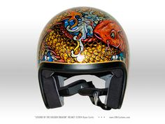 Custom Helmets - SIN Customs - Hot Rod Car Art