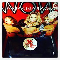 One banana two banana three banana.....#bananarama #wow #vinyl #vinyljunkie #1987 #80s #saw #stockaitkenwaterman #londonrecords #music #musiclover #record #recordcollection #nowspinning #nowplaying #pop #popmusic #classicpop by sprakesy