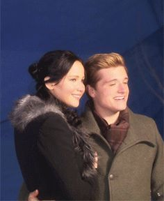 BTS: Catching Fire Behind The Scenes Photo