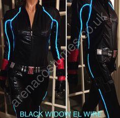 Avengers Black Widow El Wire