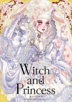 Witch and Princess / SAKIZO Original Illustration Doujinshi Art Book Japan anime Princess Illustration, Illustration Art, Blind Art, T Art, Pretty Art, Anime Art Girl, Doujinshi, Art Reference, Illustrators