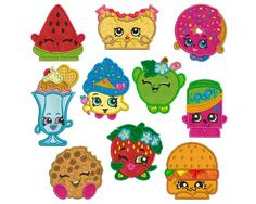 SHOPKINS 1  Machine Applique Embroidery  10 by Embroiderblock