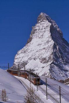 Gornergrat Peak, Zermatt, Switzerland