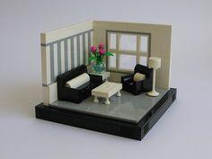 Pop of Pink Minifigura Lego, Lego Craft, Legos, Lego Design, Lego Kitchen, Modele Lego, Box Container, Lego Furniture, Lego Challenge