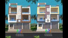Village House Design, Village Houses, Modern Small House Design, Front Elevation Designs, House Colors, Color Combinations, Exterior, Architecture, Home