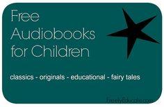 Over 100 free audiobooks for children