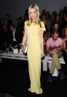 Los VIP del London Fashion Week Otono Invierno 2013 - Laura Whitmore