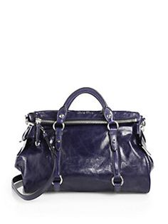 Miu Miu - Vitello Lux Large Bow Bag