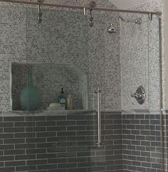 Great shower tile combination