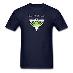 Seahawks Decepticon Logo / Blue and Green by BrandonBaselice