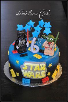 Star Wars Lego Cake!