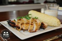 Make my sister's delicious and easy grilled honey mustard chicken and banana cake with browned butter frosting.